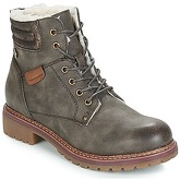 Refresh  LAMANCA  women's Mid Boots in Green