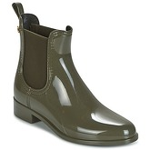 Lemon Jelly  COMFY  women's Wellington Boots in Green