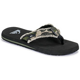 Quiksilver  MONKEY ABYSS M SNDL XGCK  men's Flip flops / Sandals (Shoes) in Green