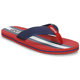 Levis  DODGE SPORTSWEAR  men's Flip flops / Sandals (Shoes) in Red