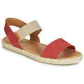 Pataugas  EGEE  women's Sandals in Red