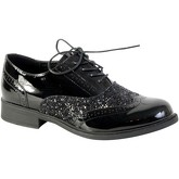 The Divine Factory  Shoes Derby  TDF3124 Black  men's Loafers / Casual Shoes in Black