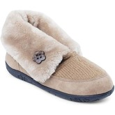 Padders  Eden Womens Full Slippers  women's Snow boots in Beige
