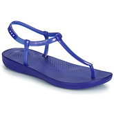 FitFlop  IQUSHION SPLASH - PEARLISED  women's Flip flops / Sandals (Shoes) in Blue