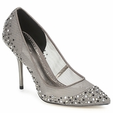 Bourne  SAMANTHA  women's Court Shoes in Grey
