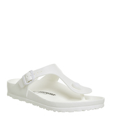 Birkenstock Toe Thong Footbed WHITE EVA