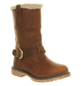 Timberland Nellie Pull On boots TOBACCO FORTY LEATHER