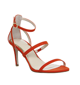 Office Marlow Single Sole Strappy Sandals RED