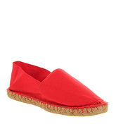 Office Solemate Espadrille RED CANVAS