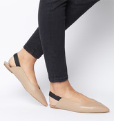 Office O-fizz- Point Slingback NUDE