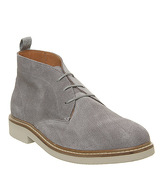 Shoe the Bear Seaford Chukka LIGHT GREY SUEDE