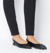 Office O-fizz- Point Slingback BLACK