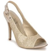 StylistClick  SYLVIA  women's Sandals in Gold