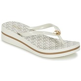 MICHAEL Michael Kors  BEDFORD FIPFLOP STRIPE  women's Flip flops / Sandals (Shoes) in Beige