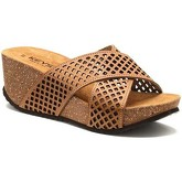 Keys  5426 Sandals Women Brown  women's Mules / Casual Shoes in Brown