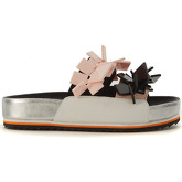 Kat Maconie  Drew multicolor leather slippers  women's Sandals in Multicolour