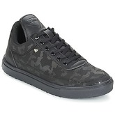 Cash Money  ARMY  men's Shoes (Trainers) in Black