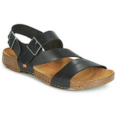 Art  I BREATHE  men's Sandals in Black