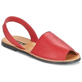 So Size  LOJA  women's Sandals in Red