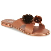 Lollipops  ZAG FLAT SANDAL  women's Mules / Casual Shoes in Brown
