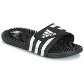 adidas  ADISSAGE SYNTHETIC  women's Mules / Casual Shoes in Black