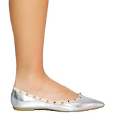 Infinie Passion  Ballerinas 00W025076  women's Shoes (Pumps / Ballerinas) in Silver
