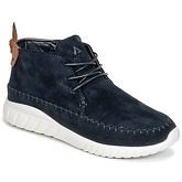 Asfvlt  YUMA  men's Shoes (High-top Trainers) in Black