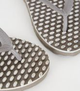 Souls Grey Massage Sole Flip Flops New Look