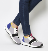 Office Action Neoprene Runner GREY MULTI COLOUR