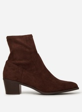 Womens Chocolate Brown 'Maddie' Boots- Brown, Brown