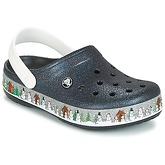 Crocs  CROCBAND HOLIDAY CLOG  men's Clogs (Shoes) in Black