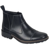 Rieker  Timber Mens Leather Ankle Boots  men's Mid Boots in Black