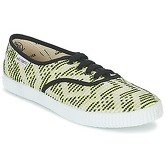 Victoria  INGLES GEOMETRICO LUREX  women's Shoes (Trainers) in Yellow