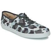 Victoria  INGLESA ESTAMP HUELLA TIGRE  women's Shoes (Trainers) in Grey