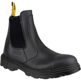 Amblers Safety  FS129  men's Low Ankle Boots in Black