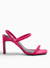 Womens Stylish Pink Tubular Sandals, Pink