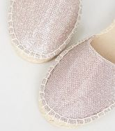 Wide Fit Multicoloured Glitter Slingback Espadrilles New Look Vegan