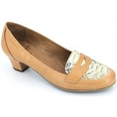 Wonders  e-4026 women casual shoes navy  women's Court Shoes in Brown