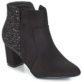 Spot on  BRUXEA  women's Low Ankle Boots in Black