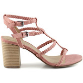London Rag  Sadia  women's Court Shoes in Pink