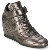 Bikkembergs  STARLIT 138  women's Shoes (High-top Trainers) in Silver