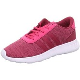 adidas  LITE RACER K  women's Shoes (Trainers) in Pink