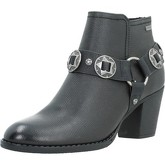 Mustang  51185  women's Low Ankle Boots in Black
