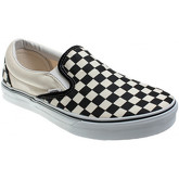 Vans  Classic Slip-On Black and White Checkboard Canvas Trainers  men's Slip-ons (Shoes) in Multicolour