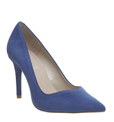 Office Hold Up Sweetheart Point Courts BLUE SUEDE