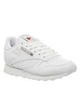 Reebok Classic Leather (w) WHITE LEATHER