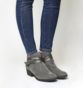 Blowfish Sanborn Ankle Boot Exclusive GREY FAWN