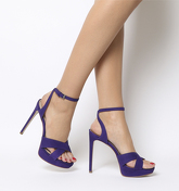Office Hercules Cross Over Platform PURPLE NUBUCK