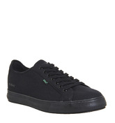 Kickers Tovni Lacer Sneaker BLACK CANVAS