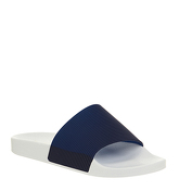 Office Flume Slide WHITE NAVY